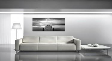 Schilderij Pier 50x125 - ACTIE