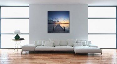 Schilderij Pier Color - ACTIE