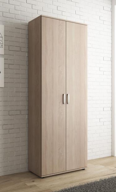 Schoenenkast Odette - Licht eiken - 70 cm