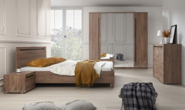 Slaapkamer Toronto 160 - Eiken - Groot 2