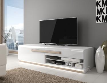 TV-Meubel Amarillo - Wit - Licht eiken - 160 cm