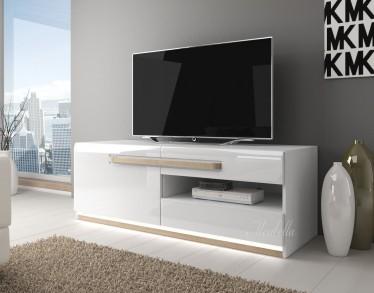 TV-Meubel Amarillo - Wit - Licht eiken - 140 cm