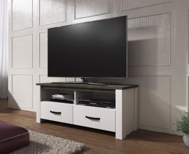 TV-Meubel Amaro - Wit - Eiken - 114 cm