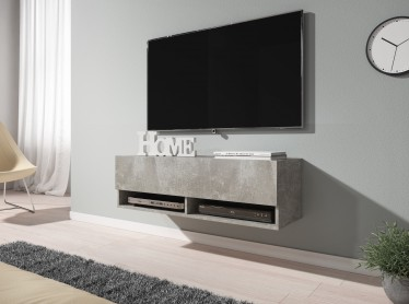 TV-Meubel Asino - Betonlook - 100 cm