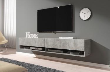 TV-Meubel Asino - Betonlook - 180 cm