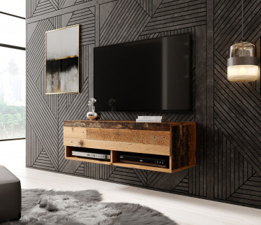TV-Meubel Asino - Old wood - 100 cm