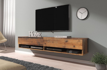 TV-Meubel Asino - Old wood - 180 cm