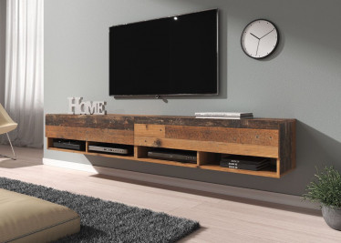 TV-Meubel Asino - Old wood - 200 cm