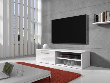 TV-meubel Bash - Wit - 120 cm