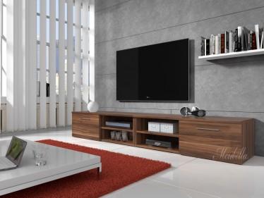 TV-meubel Bash II - Eiken - 240 cm
