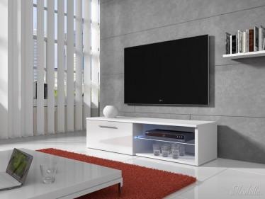 TV-meubel Bash LED - Wit - 120 cm