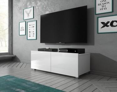 TV-Meubel Calgary - Wit - 100 cm - Staand of hangend