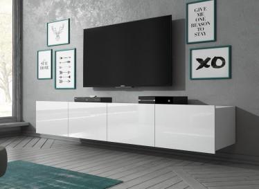 TV-Meubel Calgary - Wit - 200 cm - Hangend
