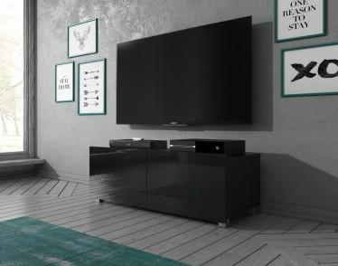 TV-Meubel Calgary - Zwart - 100 cm - Staand of hangend