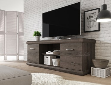 TV-Meubel Crown - Donker eiken - 157 cm