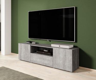 TV-Meubel Davina - Betonlook - 160 cm