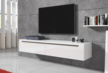 TV-Meubel Davos - Wit - 140 cm