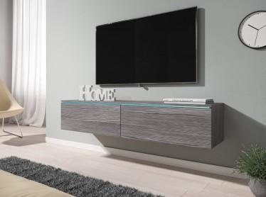 TV-Meubel Dixon - Grijs eiken - 140 cm