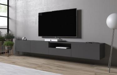 TV-Meubel Eos 3 - Grijs - 240 cm