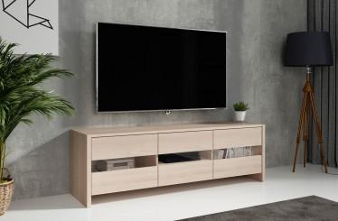 TV-Meubel Frenna - Licht eiken - 139 cm - ACTIE
