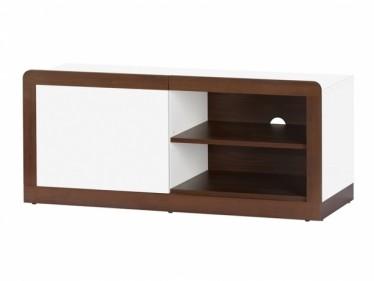 TV-Meubel Maison - Wit - Wenge - 108 cm - ACTIE