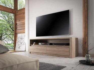 TV-Meubel Monaco - Truffel eiken - 130 cm - ACTIE