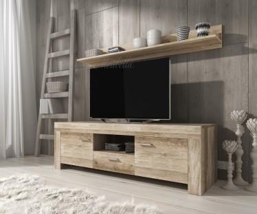 Tv Radio Meubel : Tv meubels grijs eiken meubella