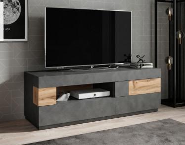TV-Meubel Sublime - Grijs - Eiken - 160 cm