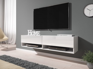 TV-Meubel Asino - Wit - 140 cm