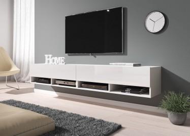 TV-Meubel Asino - Wit - 200 cm