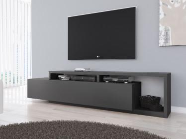 TV-Meubel Bello - Antraciet - 219 cm