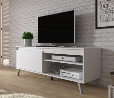 TV-Meubel Danon - Wit - 138 cm