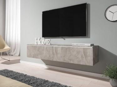TV-Meubel Dixon - Betonlook - 140 cm