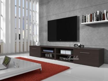 TV-meubel Bash II - Wenge - 240 cm