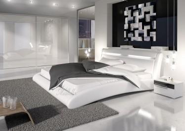 Bed Milan - Wit - 180x200 cm - ACTIE