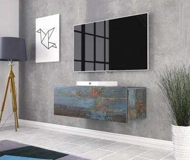 TV-Meubel Vayana - Canyon painted metaal - 90 cm