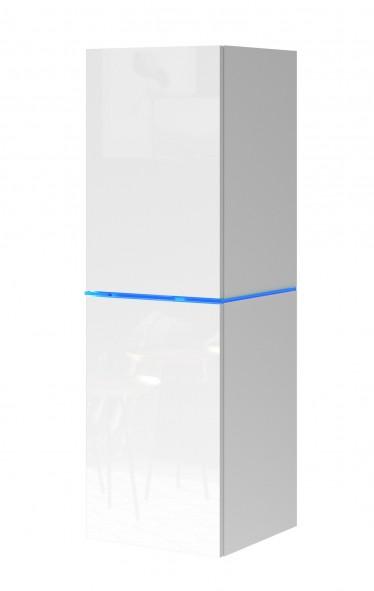 Vitrinekast Donn - Wit - 35 cm
