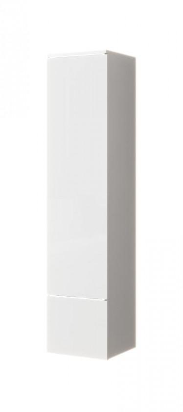 Vitrinekast Verity - Wit - 30 cm - Dicht - ACTIE
