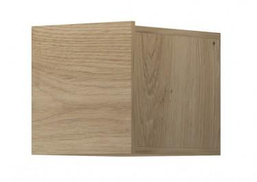 Wandkast Eos - Eiken - 30 cm - Met klep