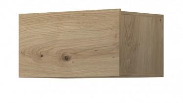 Wandkast Eos - Eiken - 60 cm - Met klep
