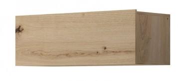 Wandkast Eos - Eiken - 90 cm - Met klep