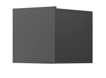 Wandkast Eos - Grijs - 30 cm - Met klep