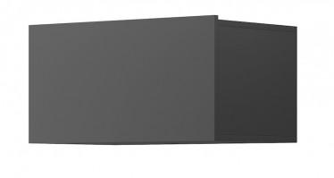 Wandkast Eos - Grijs - 60 cm - Met klep
