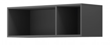 Wandkast Eos - Grijs - 90 cm
