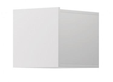 Wandkast Eos - Wit - 30 cm - Met klep