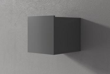 Wandkast Eos - Grijs - 30 cm - Met klep - ACTIE