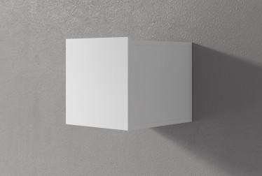 Wandkast Eos - Wit - 30 cm - Met klep - ACTIE