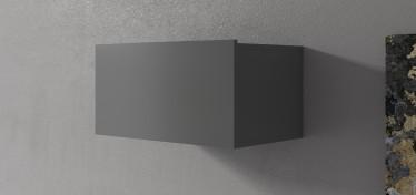 Wandkast Eos - Grijs - 60 cm - Met klep - ACTIE