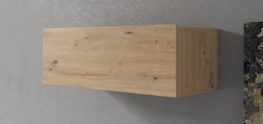 Wandkast Eos - Eiken - 90 cm - Met klep - ACTIE