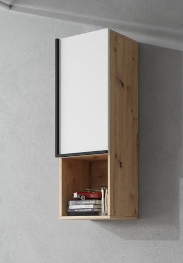 Wandkast Lanz - Eiken - Wit - 36 cm - ACTIE